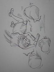 朝比奈ゆうひ 公式ブログ/ 漫画描いてます(゜.゜) 画像1