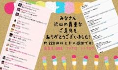 朝比奈ゆうひ 公式ブログ/アンケート結果発表♪( ´θ`)ノ 画像3