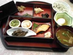 朝比奈ゆうひ 公式ブログ/ おひな様の晩御飯( *бωб) 画像1
