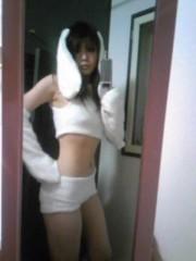 朝比奈ゆうひ 公式ブログ/ ゆうひ、白ウサギになる( *бωб) 画像1