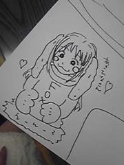 朝比奈ゆうひ 公式ブログ/似顔絵( *бωб) 画像1