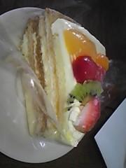 朝比奈ゆうひ 公式ブログ/ お父さんがケーキ買ってくれた☆ 画像1
