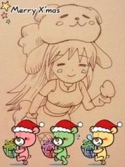 朝比奈ゆうひ 公式ブログ/クリスマスカード第一弾 画像3