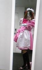 朝比奈ゆうひ 公式ブログ/写真【衣裳】ピンクのメイド 画像1