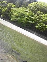 朝比奈ゆうひ 公式ブログ/ パワースポットの聖なる川!(・ω・)ノ 画像1