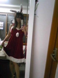 サンタ衣装♪