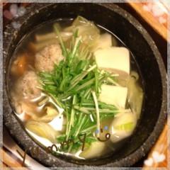 朝比奈ゆうひ 公式ブログ/塩スープの寄せ鍋♪ 画像1