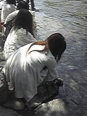 朝比奈ゆうひ 公式ブログ/ パワースポットの聖なる川!(・ω・)ノ 画像2