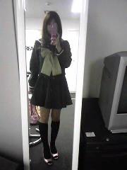 朝比奈ゆうひ プライベート画像/妄想シリーズ 制服