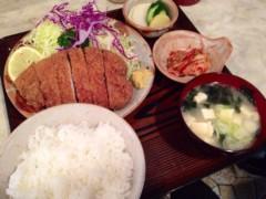 松方弘樹 公式ブログ/☆☆とんかつ☆よしえ☆☆ 画像2