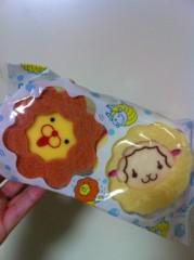 笹井紗々 公式ブログ/ミスドのくまちゃんドーナツ&可愛いスポンジ(=^x^=) 画像2