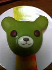 笹井紗々 公式ブログ/ミスドのくまちゃんドーナツ&可愛いスポンジ(=^x^=) 画像1