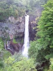 温井摩耶 公式ブログ/華厳の滝。 画像1