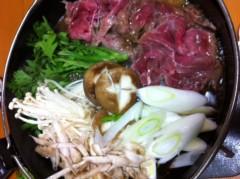 賀久涼太 公式ブログ/すき焼き♪ 画像1