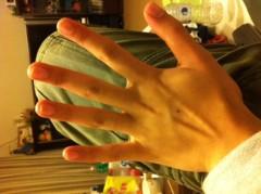 賀久涼太 公式ブログ/綺麗な手? 画像1