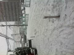 賀久涼太 公式ブログ/大雪。 画像1