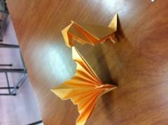 賀久涼太 公式ブログ/え、折り紙? 画像3