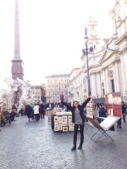 FLOWER 公式ブログ/ローマの空気絵梨奈 画像1