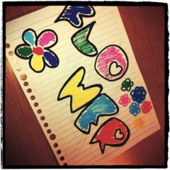 FLOWER 公式ブログ/テスト勉強中☆真波 画像1
