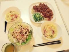 FLOWER 公式ブログ/Dinner!  千春 画像1