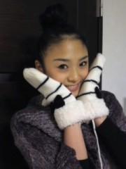 FLOWER 公式ブログ/手袋♪絵梨奈☆ 画像1