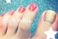 FLOWER 公式ブログ/foot nail.  千春 画像1