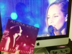 FLOWER 公式ブログ/Alicia Keys!   千春 画像1