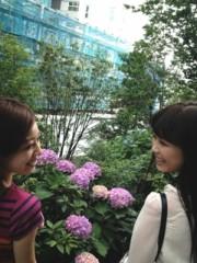 FLOWER 公式ブログ/あじさい、玲奈 画像1