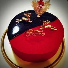 FLOWER 公式ブログ/我が家のクリスマスケーキ。千春 画像1