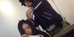 FLOWER 公式ブログ/メイク中♪絵梨奈☆ 画像1