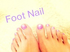FLOWER 公式ブログ/Foot nail!   千春 画像1
