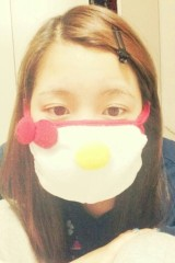 FLOWER 公式ブログ/キュートマスク   杏香 画像1