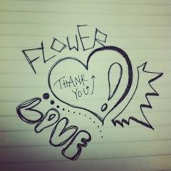 FLOWER 公式ブログ/らくがき。千春 画像2