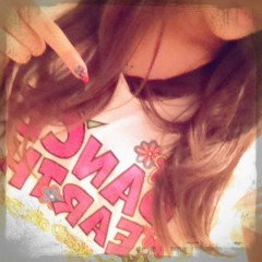 FLOWER 公式ブログ/Tシャツ!  杏香 画像1