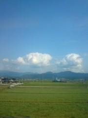 宇都宮快斗 公式ブログ/雲の上の青空。 画像1