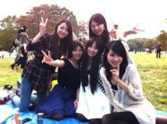 下島美来 公式ブログ/代々木公園でピクニック(^ー^)ノ 画像3