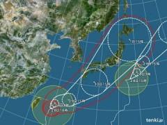 月野魅邑 公式ブログ/取り急ぎ・・〜緊急速報〜W台風、本土へ直撃の可能性! 画像1