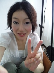 小山田みずき 公式ブログ/メイク撮影中〜 画像1