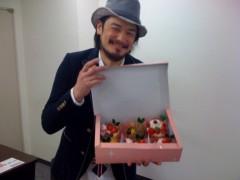 純烈 公式ブログ/ケーキと涼平 画像1