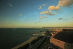 石田晃久 公式ブログ/夕陽の福岡ドーム 画像1