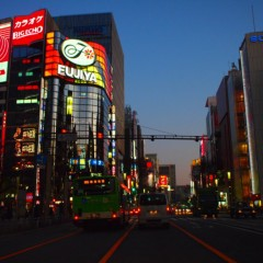 石田晃久 公式ブログ/夕暮れの銀座 画像1