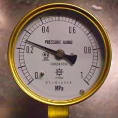 石田晃久 公式ブログ/水圧を測ってみた 画像2