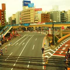 石田晃久 公式ブログ/東京マラソンみえた 画像1