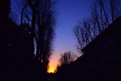 石田晃久 公式ブログ/神宮外苑の夕焼け 画像2