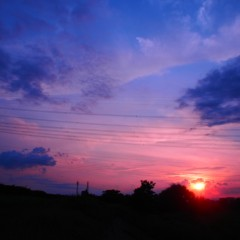 石田晃久 公式ブログ/今日の夕焼け 画像2