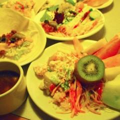 石田晃久 公式ブログ/サラダ食べ放題 画像3