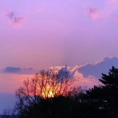 石田晃久 公式ブログ/スタジオIsseeからの夕焼け 画像1