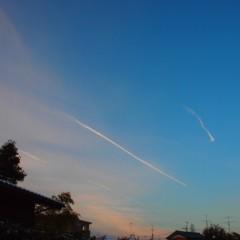 石田晃久 公式ブログ/ひこうき雲 画像1