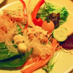石田晃久 公式ブログ/サラダ食べ放題 画像2