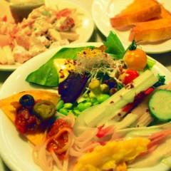 石田晃久 公式ブログ/サラダ食べ放題 画像1
